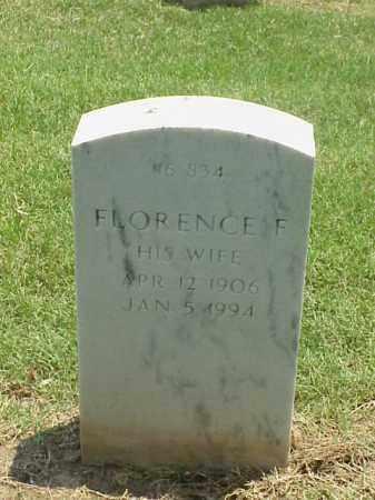 NISBETT, FLORENCE F - Pulaski County, Arkansas   FLORENCE F NISBETT - Arkansas Gravestone Photos