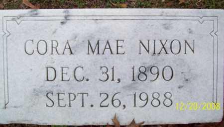 NIXON, CORA MAE - Pulaski County, Arkansas | CORA MAE NIXON - Arkansas Gravestone Photos