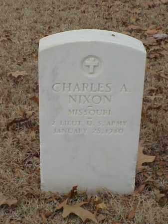 NIXON (VETERAN WWI), CHARLES A - Pulaski County, Arkansas | CHARLES A NIXON (VETERAN WWI) - Arkansas Gravestone Photos