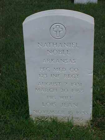 NOBLE (VETERAN KOR), NATHANIEL - Pulaski County, Arkansas | NATHANIEL NOBLE (VETERAN KOR) - Arkansas Gravestone Photos