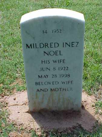 NOEL, MILDRED INEZ - Pulaski County, Arkansas | MILDRED INEZ NOEL - Arkansas Gravestone Photos