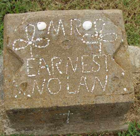 NOLAN, EARNEST - Pulaski County, Arkansas | EARNEST NOLAN - Arkansas Gravestone Photos