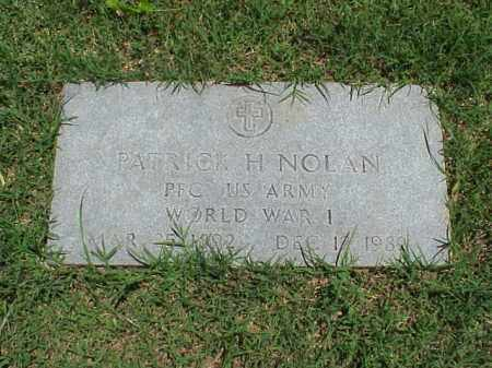 NOLAN (VETERAN WWI), PATRICK H - Pulaski County, Arkansas | PATRICK H NOLAN (VETERAN WWI) - Arkansas Gravestone Photos