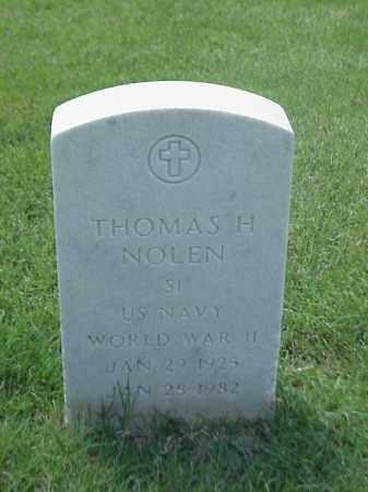 NOLEN (VETERAN WWII), THOMAS H - Pulaski County, Arkansas | THOMAS H NOLEN (VETERAN WWII) - Arkansas Gravestone Photos