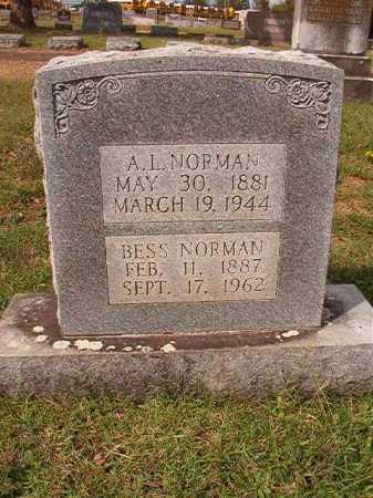 NORMAN, BESS - Pulaski County, Arkansas | BESS NORMAN - Arkansas Gravestone Photos