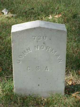NORMAN (VETERAN CSA), JOHN - Pulaski County, Arkansas | JOHN NORMAN (VETERAN CSA) - Arkansas Gravestone Photos
