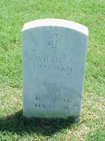 NORMAN (VETERAN VIET), WILLIE J - Pulaski County, Arkansas | WILLIE J NORMAN (VETERAN VIET) - Arkansas Gravestone Photos