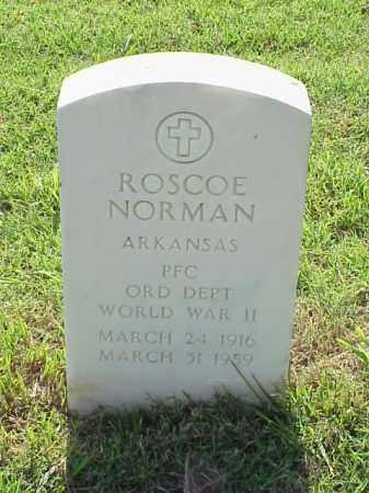 NORMAN (VETERAN WWII), ROSCOE - Pulaski County, Arkansas   ROSCOE NORMAN (VETERAN WWII) - Arkansas Gravestone Photos