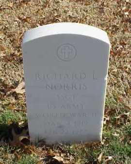 NORRIS (VETERAN WWII), RICHARD L - Pulaski County, Arkansas   RICHARD L NORRIS (VETERAN WWII) - Arkansas Gravestone Photos