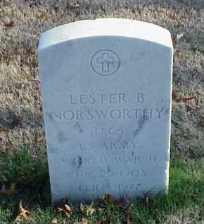 NORSWORTHY (VETERAN WWII), LESTER B - Pulaski County, Arkansas | LESTER B NORSWORTHY (VETERAN WWII) - Arkansas Gravestone Photos