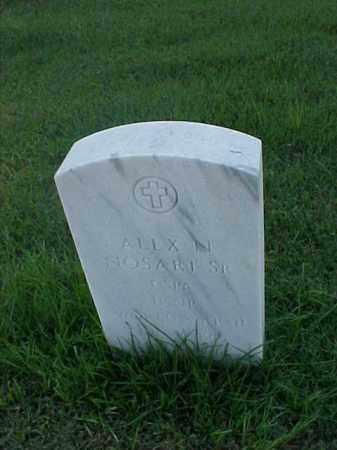NOSARI, SR (VETERAN WWII), ALEX N - Pulaski County, Arkansas | ALEX N NOSARI, SR (VETERAN WWII) - Arkansas Gravestone Photos