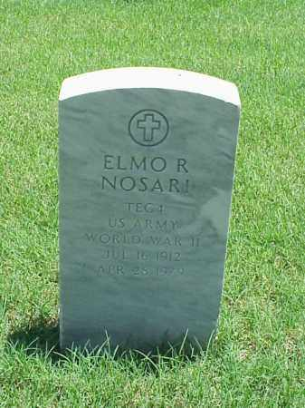 NOSARI (VETERAN WWII), ELMO R - Pulaski County, Arkansas | ELMO R NOSARI (VETERAN WWII) - Arkansas Gravestone Photos