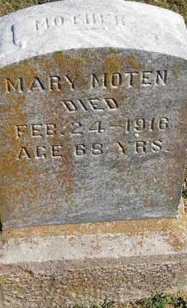 NOTEN, MARY - Pulaski County, Arkansas | MARY NOTEN - Arkansas Gravestone Photos