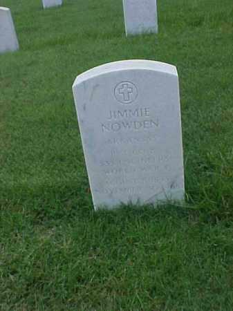 NOWDEN (VETERAN WWI), JIMMIE - Pulaski County, Arkansas | JIMMIE NOWDEN (VETERAN WWI) - Arkansas Gravestone Photos