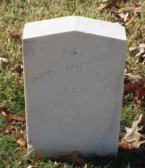 NOWLIN (VETERAN CSA), A G - Pulaski County, Arkansas | A G NOWLIN (VETERAN CSA) - Arkansas Gravestone Photos