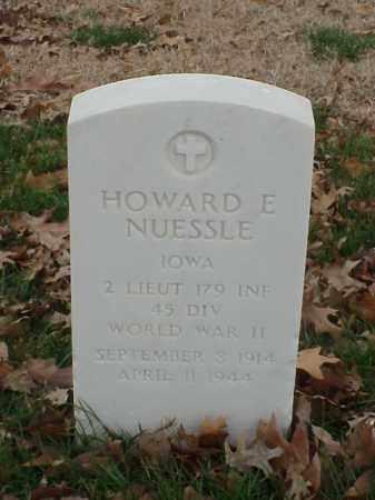 NUESSLE (VETERAN WWII), HOWARD E - Pulaski County, Arkansas | HOWARD E NUESSLE (VETERAN WWII) - Arkansas Gravestone Photos