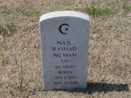 NU'MAN (VETERAN KOR), NA'IL RASHAD - Pulaski County, Arkansas | NA'IL RASHAD NU'MAN (VETERAN KOR) - Arkansas Gravestone Photos