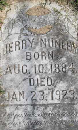 NUNLEY, JERRY - Pulaski County, Arkansas | JERRY NUNLEY - Arkansas Gravestone Photos