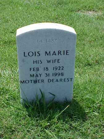 NUNN, LOIS MARIE - Pulaski County, Arkansas   LOIS MARIE NUNN - Arkansas Gravestone Photos