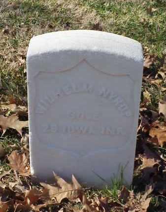 NYROP (VETERAN UNION), WILHELM - Pulaski County, Arkansas   WILHELM NYROP (VETERAN UNION) - Arkansas Gravestone Photos