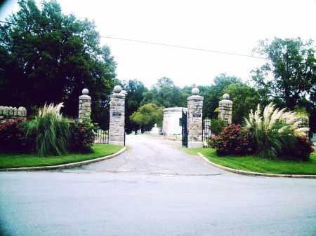 *OAKLAND CEMETERY GATE,  - Pulaski County, Arkansas    *OAKLAND CEMETERY GATE - Arkansas Gravestone Photos