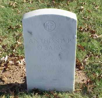 O'BARA (VETERAN WWII), ANTHONY P - Pulaski County, Arkansas   ANTHONY P O'BARA (VETERAN WWII) - Arkansas Gravestone Photos