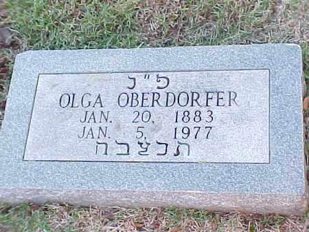 OBERDORFER, OLGA - Pulaski County, Arkansas   OLGA OBERDORFER - Arkansas Gravestone Photos