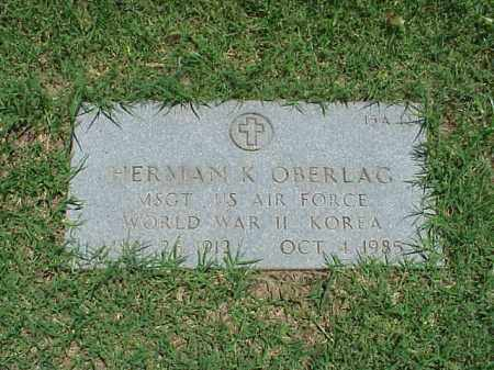 OBERLAG (VETERAN 2 WARS), HERMAN K - Pulaski County, Arkansas | HERMAN K OBERLAG (VETERAN 2 WARS) - Arkansas Gravestone Photos