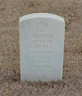 OBERLE  (VETERAN SAW), ALFRED ALVOIS - Pulaski County, Arkansas | ALFRED ALVOIS OBERLE  (VETERAN SAW) - Arkansas Gravestone Photos