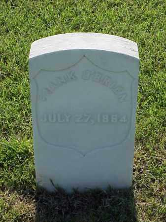 O'BRIEN (VETERAN UNION), FRANK - Pulaski County, Arkansas | FRANK O'BRIEN (VETERAN UNION) - Arkansas Gravestone Photos