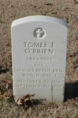 O'BRIEN (VETERAN WWI), TOMES E - Pulaski County, Arkansas   TOMES E O'BRIEN (VETERAN WWI) - Arkansas Gravestone Photos