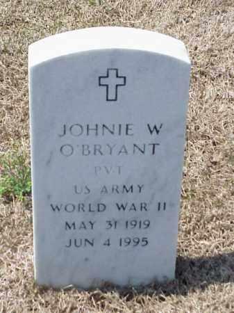 O'BRYANT (VETERAN WWII), JOHNIE W - Pulaski County, Arkansas | JOHNIE W O'BRYANT (VETERAN WWII) - Arkansas Gravestone Photos