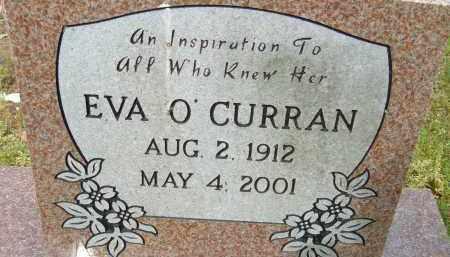 O'CURRAN, EVA - Pulaski County, Arkansas | EVA O'CURRAN - Arkansas Gravestone Photos