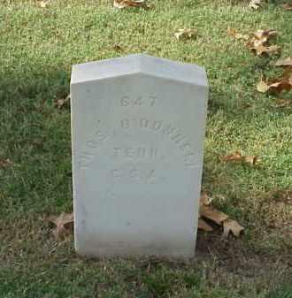 O'DONNNELL (VETERAN CSA), THOMAS - Pulaski County, Arkansas | THOMAS O'DONNNELL (VETERAN CSA) - Arkansas Gravestone Photos