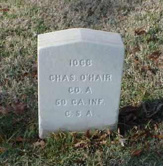 O'HAIR (VETERAN CSA), CHARLES - Pulaski County, Arkansas | CHARLES O'HAIR (VETERAN CSA) - Arkansas Gravestone Photos