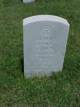 O'LIEN (VETERAN), ALBERT DALE - Pulaski County, Arkansas | ALBERT DALE O'LIEN (VETERAN) - Arkansas Gravestone Photos