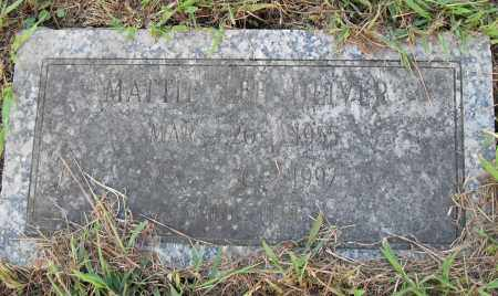 OLIVE, MATTIE LEE - Pulaski County, Arkansas | MATTIE LEE OLIVE - Arkansas Gravestone Photos