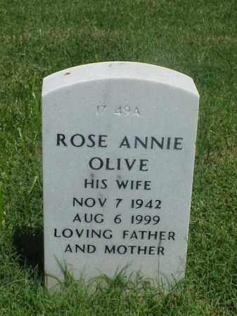 OLIVE, ROSE ANNIE - Pulaski County, Arkansas | ROSE ANNIE OLIVE - Arkansas Gravestone Photos