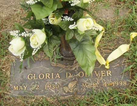 OLIVER, GLORIA D. - Pulaski County, Arkansas | GLORIA D. OLIVER - Arkansas Gravestone Photos