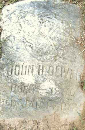OLIVER, JOHN H - Pulaski County, Arkansas   JOHN H OLIVER - Arkansas Gravestone Photos