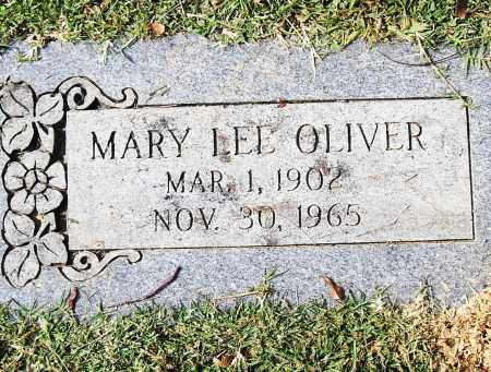 OLIVER, MARY LEE - Pulaski County, Arkansas | MARY LEE OLIVER - Arkansas Gravestone Photos