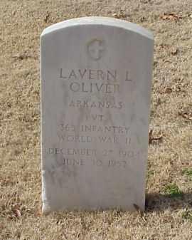 OLIVER (VETERAN WWII), LAVERN L - Pulaski County, Arkansas | LAVERN L OLIVER (VETERAN WWII) - Arkansas Gravestone Photos