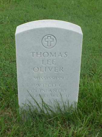 OLIVER (VETERAN WWII), THOMAS LEE - Pulaski County, Arkansas   THOMAS LEE OLIVER (VETERAN WWII) - Arkansas Gravestone Photos