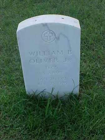 OLIVER, JR (VETERAN WWII), WILLIAM B - Pulaski County, Arkansas | WILLIAM B OLIVER, JR (VETERAN WWII) - Arkansas Gravestone Photos