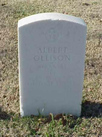 OLLISON (VETERAN WWI), ALBERT - Pulaski County, Arkansas   ALBERT OLLISON (VETERAN WWI) - Arkansas Gravestone Photos