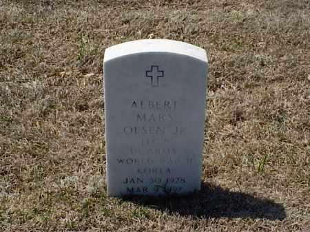 OLSEN, JR (VETERAN 2 WARS), ALBERT MARS - Pulaski County, Arkansas | ALBERT MARS OLSEN, JR (VETERAN 2 WARS) - Arkansas Gravestone Photos