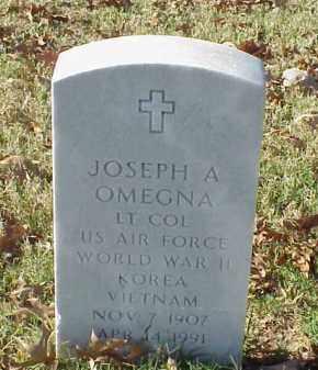 OMEGNA (VETERAN 3 WARS), JOSEPH A - Pulaski County, Arkansas | JOSEPH A OMEGNA (VETERAN 3 WARS) - Arkansas Gravestone Photos