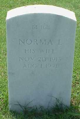 O'NEAL, NORMA L. - Pulaski County, Arkansas | NORMA L. O'NEAL - Arkansas Gravestone Photos