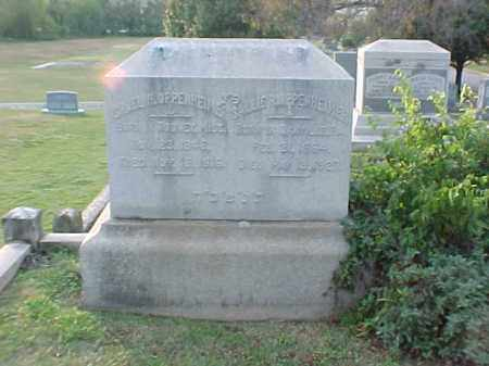OPPENHEIMER, SALLIE - Pulaski County, Arkansas | SALLIE OPPENHEIMER - Arkansas Gravestone Photos