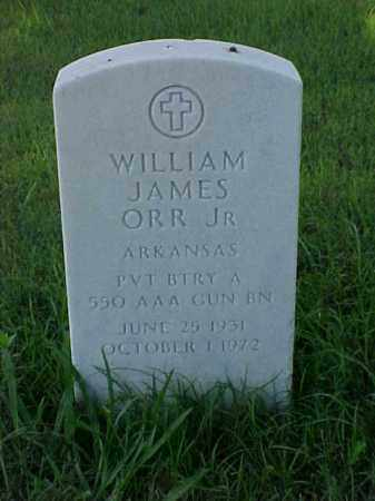 ORR, JR (VETERAN KOR), WILLIAM JAMES - Pulaski County, Arkansas   WILLIAM JAMES ORR, JR (VETERAN KOR) - Arkansas Gravestone Photos